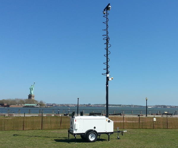 Commander 3400 Camera Trailer Ellis Island