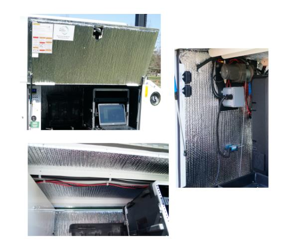 Camera Trailer Insulation Package Option