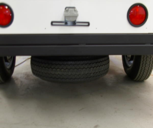 Mobile Surveillance Trailer Spare Tire