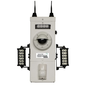 Pole Mounted Camera Security System Defender 6000