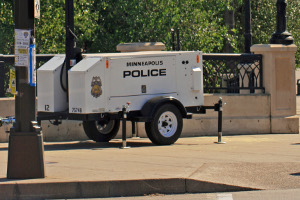 Commander 3400 Law Enforcement Camera Trailer