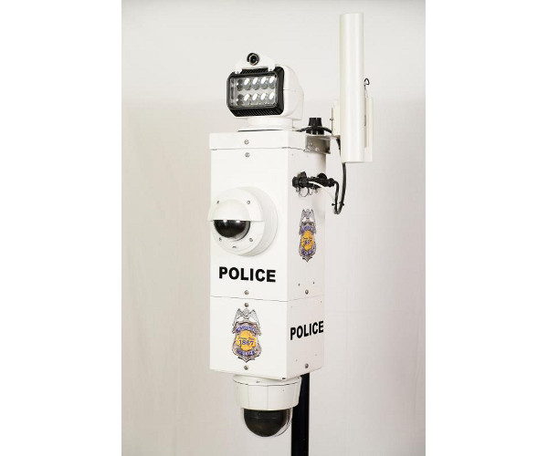 Power Sentry Custom Pole Mounted Security Camera System