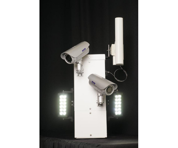 Power Sentry Pole Mounted Custom Security Camera System