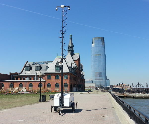 Mobile Pro Systems Camera Trailer Liberty State Park
