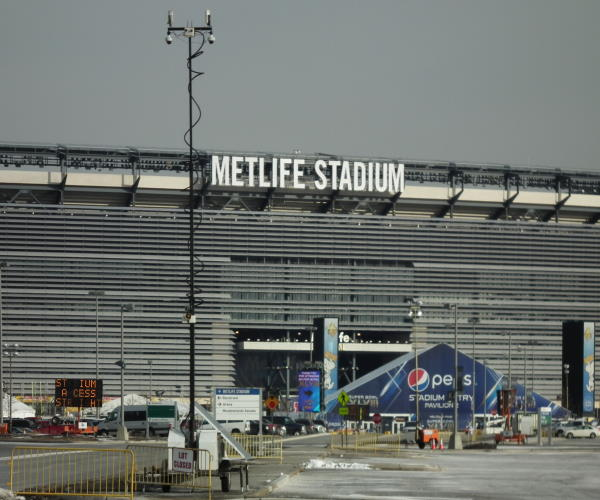 Mobile Pro Systems Surveillance Trailers at SuperBowl 2014