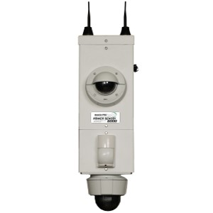 Pole Mounted Camera Security System Site Monitor 6000