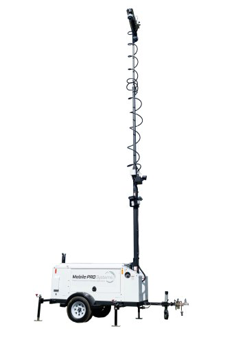 Commander 3400 Mobile Surveillance Trailer