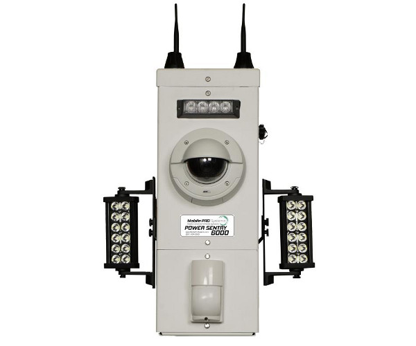 Power Sentry Pole Mounted Security Camera System for Deterrence