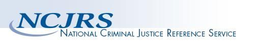 National Criminal Justice Reference Service Logo