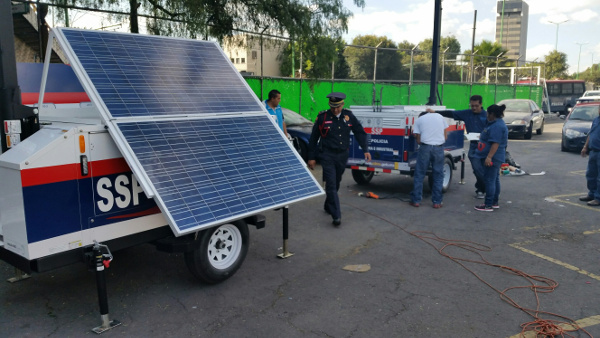 Commander 3400 with Solar Panel delivered to Mexico City