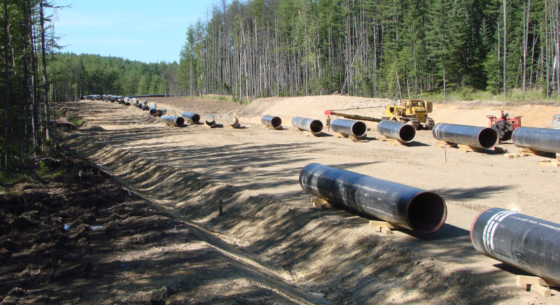 North American Gas Pipeline Construction